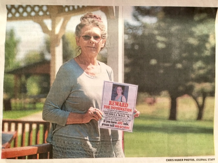 Nancy Herman on the Rapid City Journal's front page
