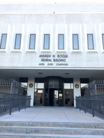 The federal courthouse in Rapid City