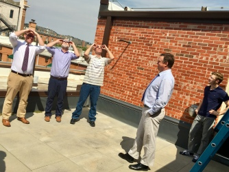 Viewing the solar eclipse in August with Rapid City Journal colleagues