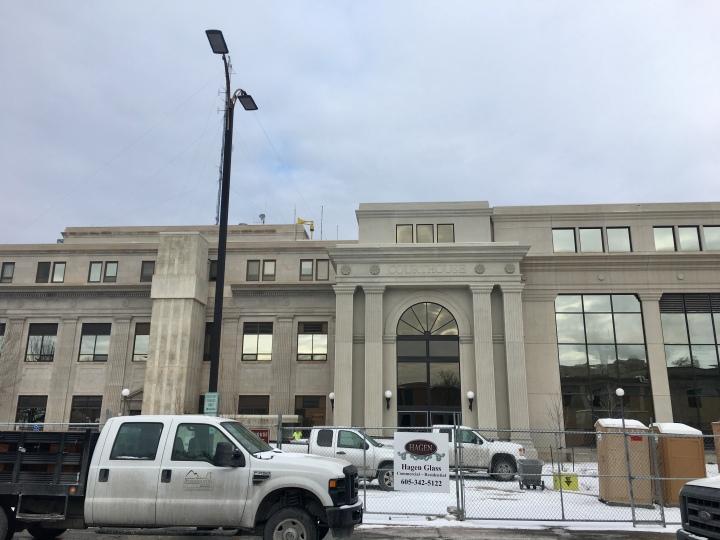 Pennington County Courthouse facade